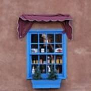 Santa Fe Window Art Print
