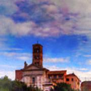 Santa Francesca Romana 2 Art Print