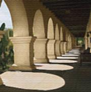 Santa Inez Arches Art Print