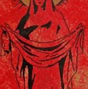 Santa Mae Art Print