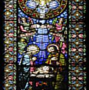 Santa Maria De Montserrat Abbey 1 Art Print