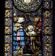 Santa Maria De Montserrat Abbey 2 Art Print