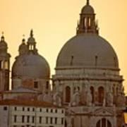Santa Maria Della Salute In Venice Art Print