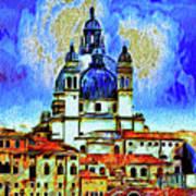 Santa Maria Venice Art Print