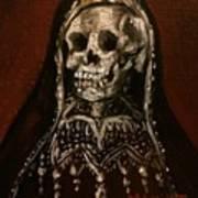 Santa Muerte Holy Death Art Print
