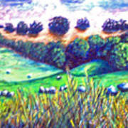 Santa Rosa Plateau Art Print