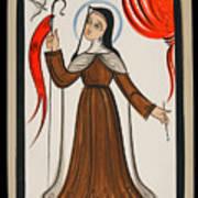 Santa Teresa De Avila - St. Teresa Of Avila - Aoavi Art Print