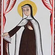 Santa Teresa De Avila - St. Teresa Of Avila - Aotda Art Print