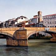 Santa Trinita Bridge Art Print