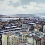Santander Panoramic Art Print