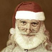 Santa's Day Off Art Print
