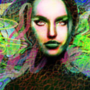 Santhia Thoughts About You Art Print