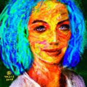 Santia True Colors 673 Art Print