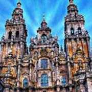 Santiago De Compostela Cathedral Art Print