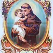 Santo Antonio De Lisboa Art Print