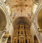 Santo Domingo Church Interior Art Print