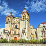 Santo Domingo Church View Art Print