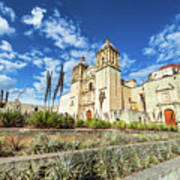 Santo Domingo Church Wide Angle Art Print