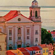Santo Estevao Church Art Print
