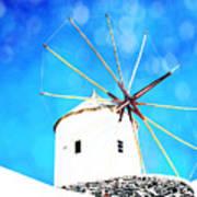 Santorini 2 Art Print
