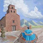 Santurario De Guadalupe Art Print
