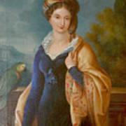 Sar La Principessa Marianna  Art Print