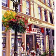 Sara In Old Town Art Print