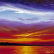 Sarasota Bay I Art Print