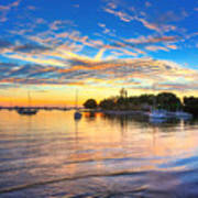 Sarasota Bay Art Print by Jenny Ellen Photography