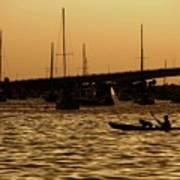 Sarasota Bay Sunset #1 Art Print
