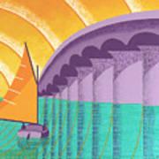 Sarasota Sail Art Print