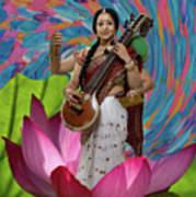 Saraswati Art Print