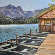Sardine Lake Art Print