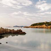 Sardinian Coast I Art Print