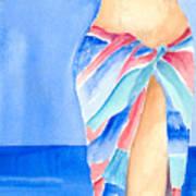 Sarong Art Print