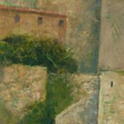 Sartene Corsica Art Print