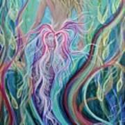 Sassy Mermaid  Art Print