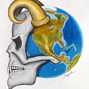 Satan's-cerebellum Art Print