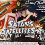 Satan's Satellites Art Print