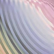 Satin Movements Lavender Art Print