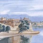 Sattaein Jo Aastan Art Print