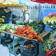 Saturday Market Art Print