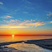 Sauble Beach Sunset 5 Art Print