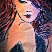 Saucy Lady Art Print