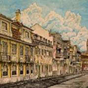 Saudade/ The Swallows Of Lisbon Art Print