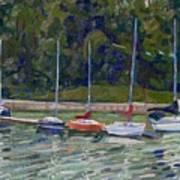 Saugeen Sails Art Print