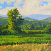 Sautee Vista Art Print