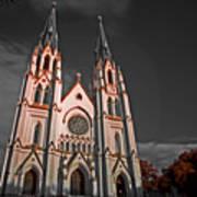 Savanna Georia Church Color Infrared 74 Art Print