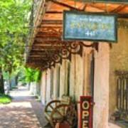 Savannah Antique Shop Art Print