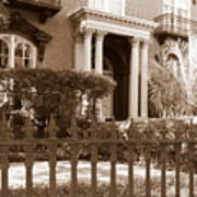 Savannah Sepia - Mercer House Art Print